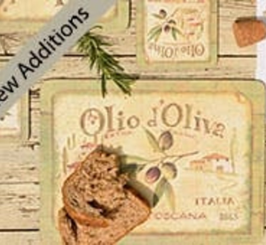 Laptray Olio d'Olivia, Schootkussen Italie
