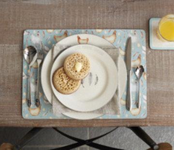 Creative Tops; Engelse Kwaliteitsprodukten Feather Lane dinerbord