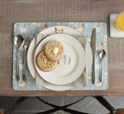 KitchenCraft; Engelse Kwaliteitsprodukten Feather Lane dinerbord