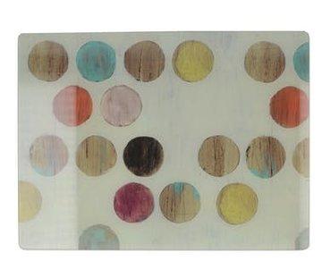 KitchenCraft; Engelse Kwaliteitsprodukten Copy of & Celebrate Glazen snijplank, werkbladbeschermer