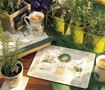 KitchenCraft; Engelse Kwaliteitsprodukten Laptray premium Topiary