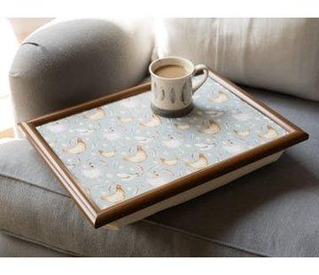 KitchenCraft; Engelse Kwaliteitsprodukten Copy of Laptray - Etude de Fleurs
