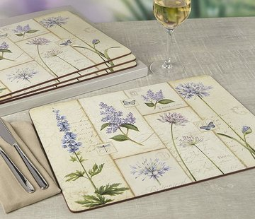 KitchenCraft; Engelse Kwaliteitsprodukten Copy of Placemats groot Olio d'Olivia, italie set/4