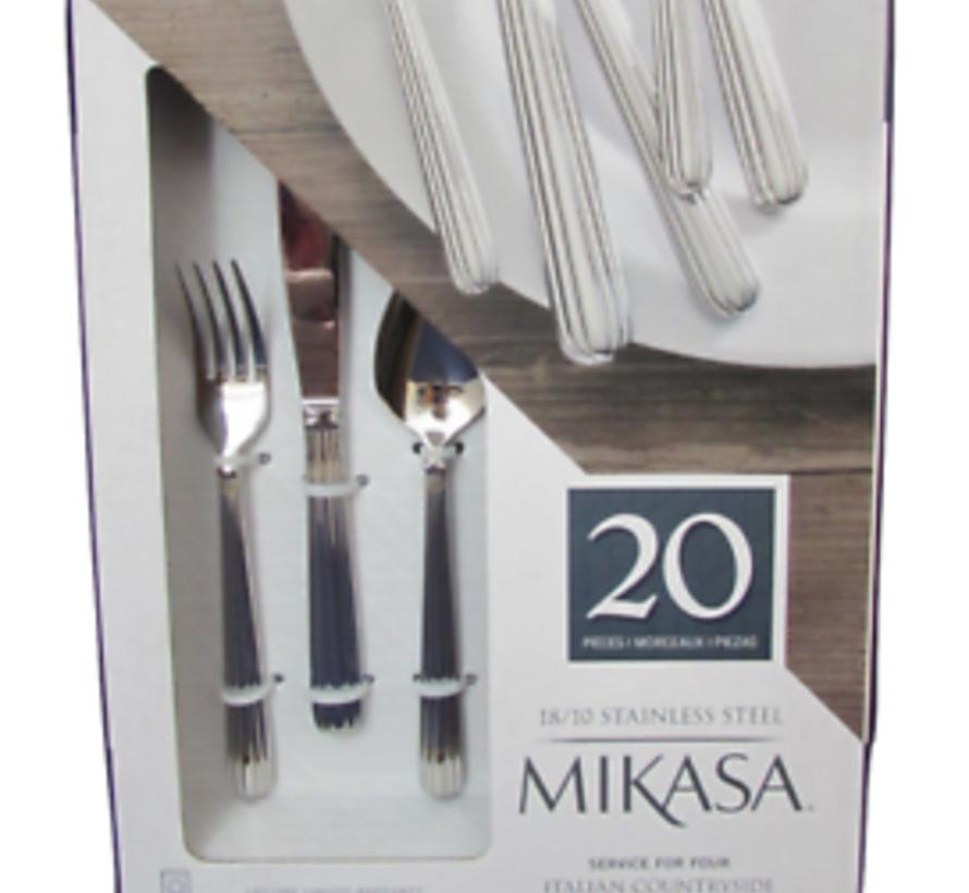 Mikasa Italian Countryside 20 delig Bestekset Ltd.