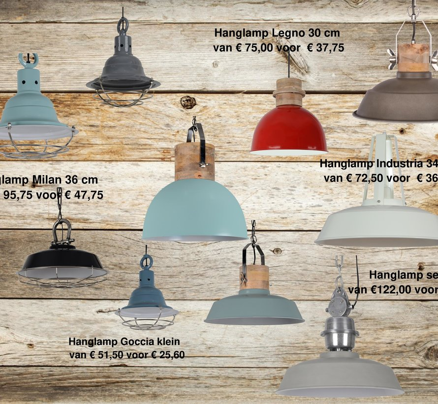 Copy of Hanglamp Goccia klein vintage blue