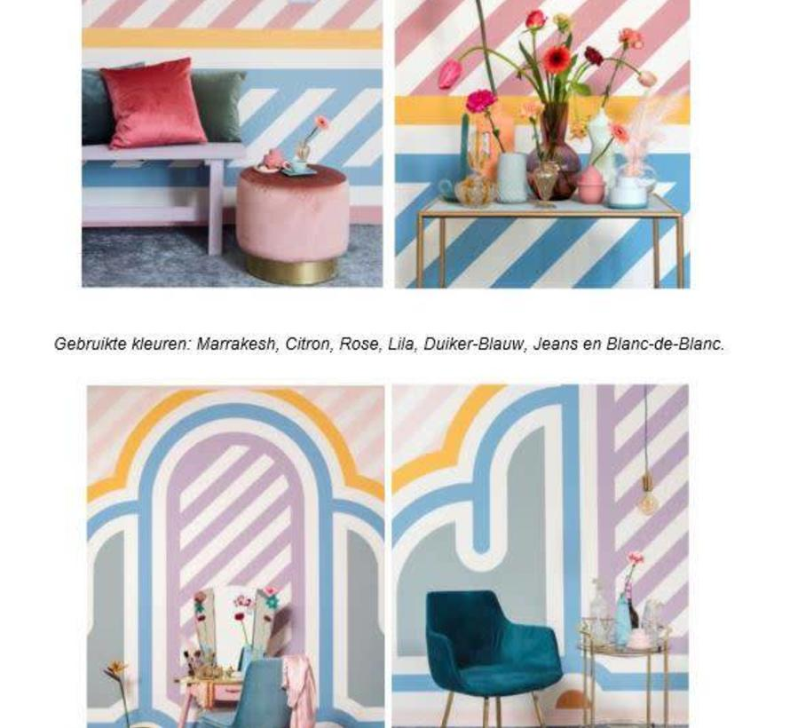 hippe kleuren krijtverf
