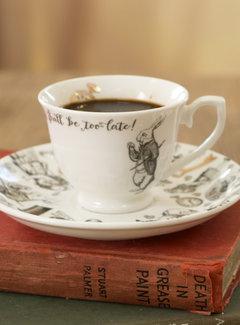 V&A Alice in Wonderland Espresso kop en schotel