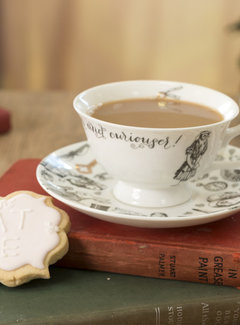 V&A Alice in Wonderland Kop en schotel fine bone china