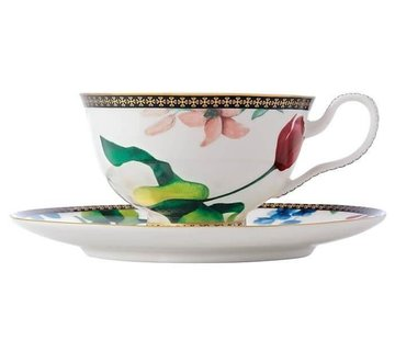 Maxwell & Williams Servies Tea's & C's Contessa Kop en Schotel wit