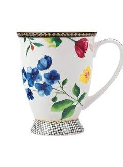 Maxwell & Williams Servies Copy of Tea's & C's Contessa Kop en Schotel wit