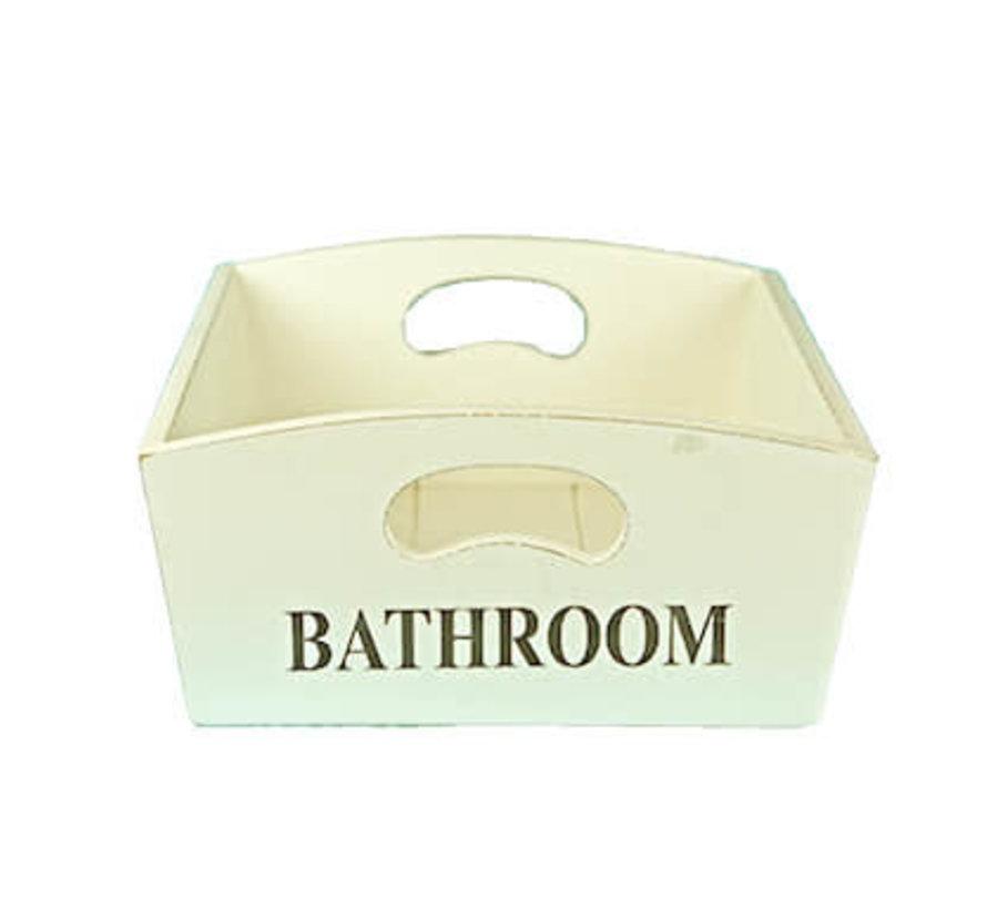 Mangelbak; Bathroom wit