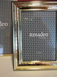Zisensa, private collection Unieke woonaccessoires Fotolijst 9x13 cm. gouden rand