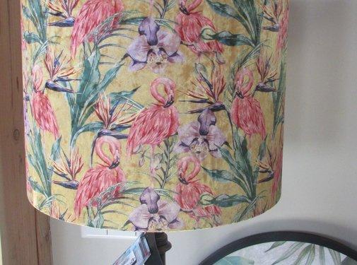 Diga by Colmore Copy of Lampenkap Flamingo 30 x 30