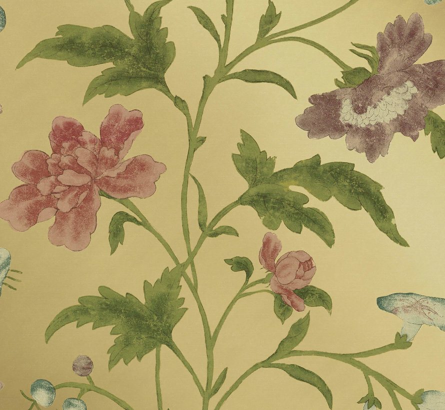 Archive Trails China Rose -Emerald Lustre