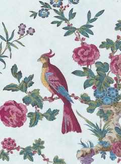 Little Green Behang Little Greene Behang Archive Trails China Rose Azure