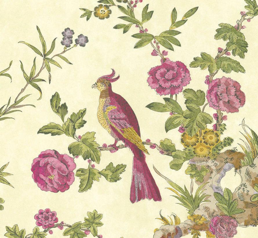 Little Greene Behang Archive Trails Darwin Jeune