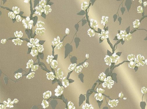 Little Green Behang Little Greene Behang Archive Trails Sakura Metal Lustre