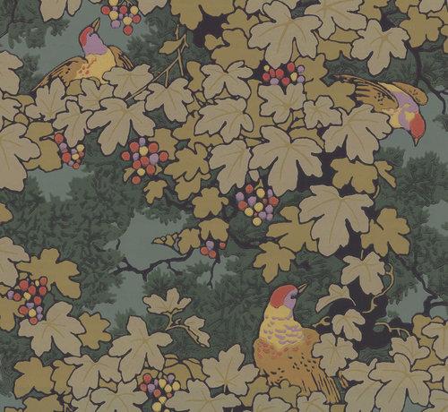 Little Green Behang Archive Trails Vine- Verde