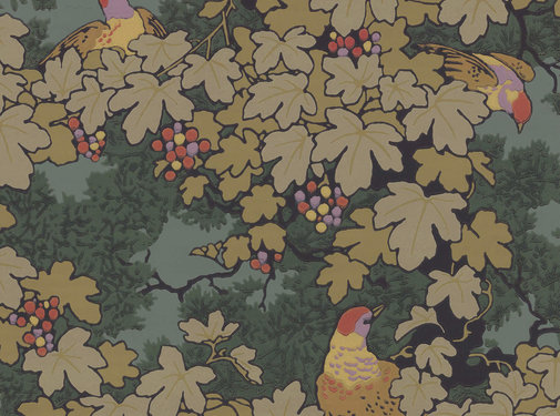 Little Green Behang Little Greene Behang Archive Trails Vine Verde