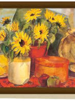 Creative Tops; Engelse Kwaliteitsprodukten Schootkussen, laptray Zonnenbloemen, sunflower