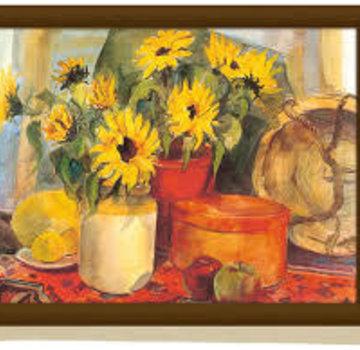 KitchenCraft; Engelse Kwaliteitsprodukten Schootkussen, laptray Zonnenbloemen, sunflower