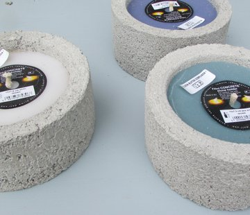 Branded By; Hoge kwaliteitskaarsen Buitenkaars cement - meerdere kleuren