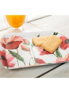 Creative Tops; Engelse Kwaliteitsprodukten Dienblaadje Klaprozen - s-