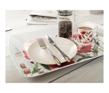 KitchenCraft; Engelse Kwaliteitsprodukten Copy of Dienblad Klaprozen - m-