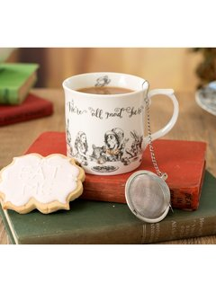 V&A Alice in Wonderland mok met theeinfuser high tea kadoset