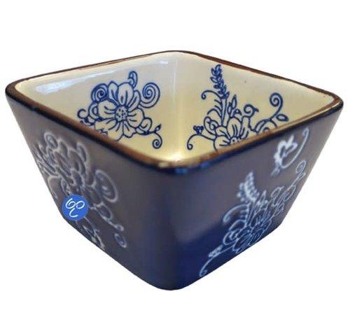 Lavandoux-Ceramics; Prachtige ovenschalen Copy of Tapas / Ovenschaaltje vierk 9 cm.