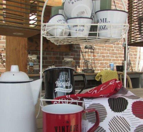 Zisensa, private collection Unieke woonaccessoires Copy of Emaille Maatcups nest set van 4