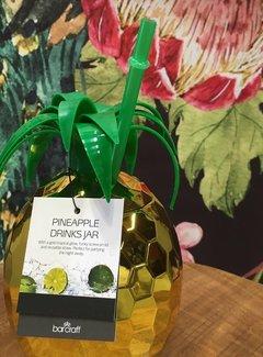 KitchenCraft; Engelse Kwaliteitsprodukten Barcraft gouden Ananas Drink Jar
