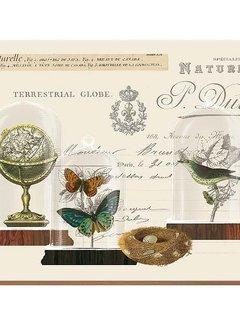 KitchenCraft; Engelse Kwaliteitsprodukten Placemats Nature under Glass