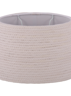 Couronne Lampenkap Cotton Rope wit