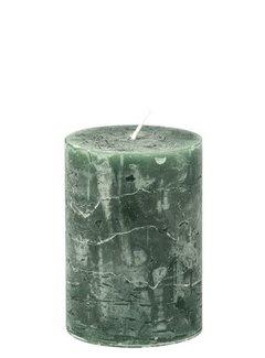 Branded By; Hoge kwaliteitskaarsen Kaars Hunter Green 7x10 cm.