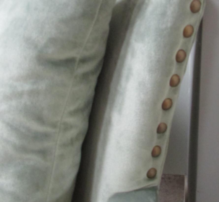 Fauteuil Madison fluweel groen