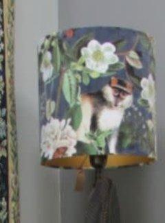 Zisensa, private collection Unieke woonaccessoires Copy of Kussen stof velour/fluweel Jungle