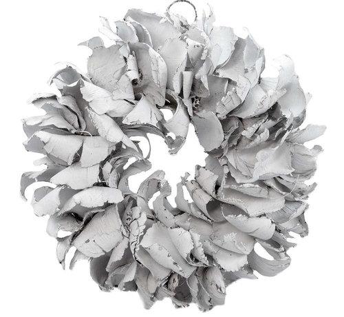 Couronne Krans Palm Petal Wreath 40 cm.