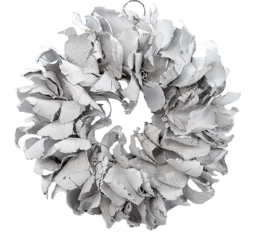 Krans Palm Petal Wreath 40 cm.