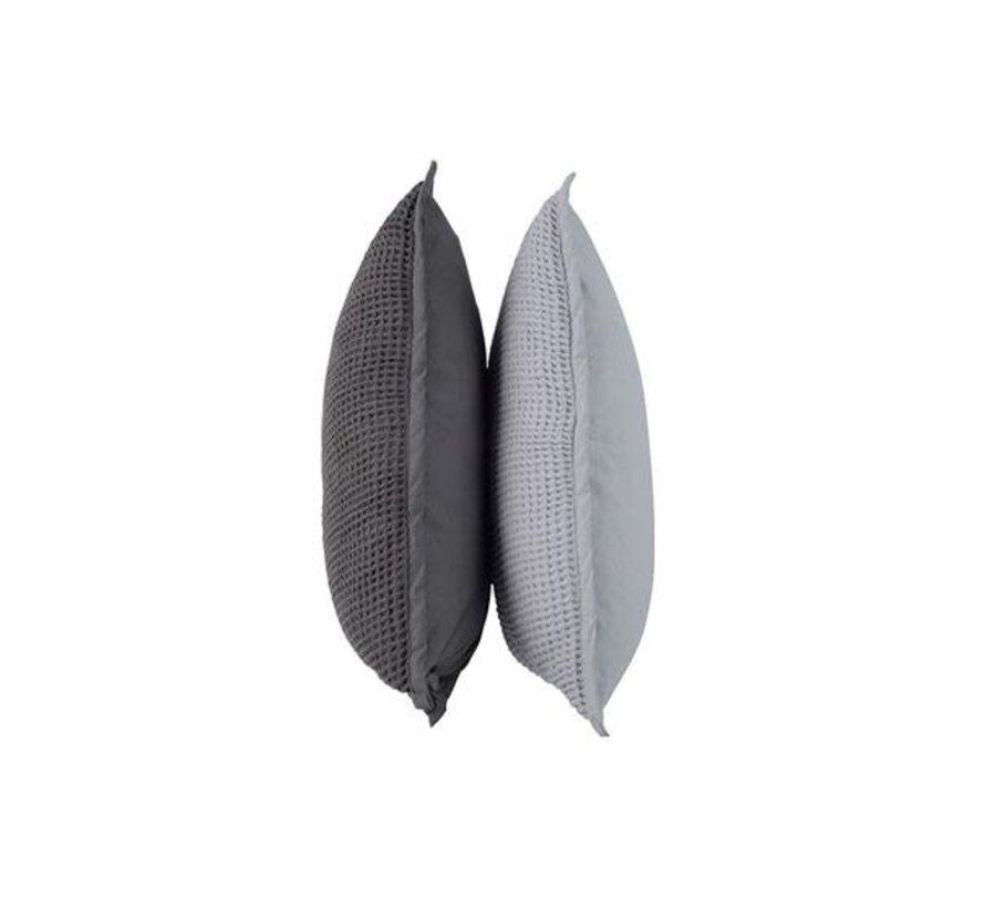 Sierkussen Wikko lichtgrijs 50x50cm
