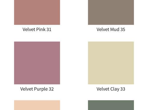 Amazona Krijtverf & Kleurwas Krijtverf Velvet Purple 32
