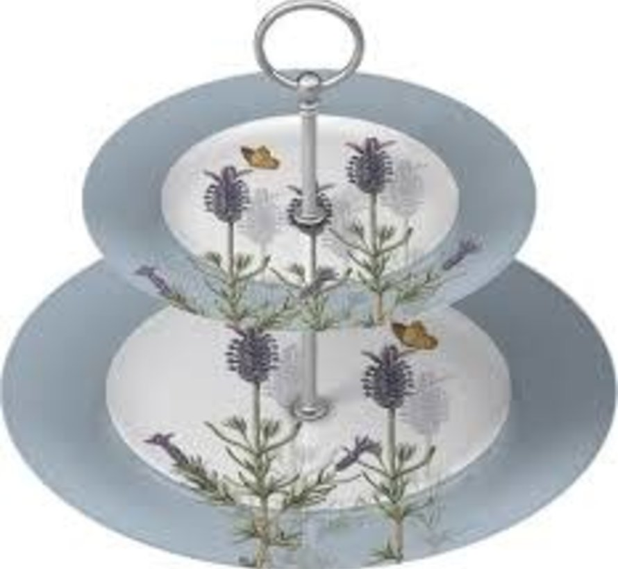 Lavender Etagere 2 laags