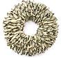 Copy of Krans Coco Wreath 40 cm. Yellow -Wash  95