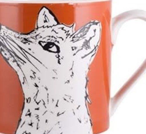 Into The Wild; Servies en keukentextiel dierenserie Into The Wild Mok Vos
