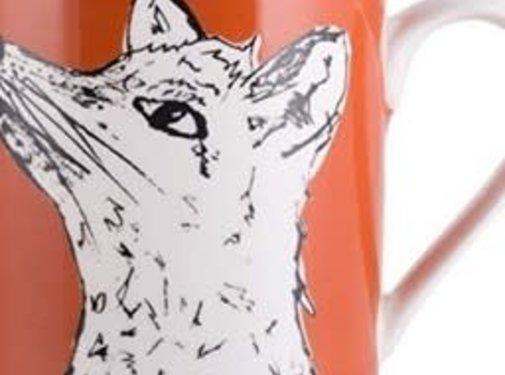 Into The Wild; Servies en keukentextiel dierenserie Into The Wild Mok Vos