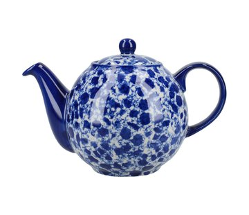 The London Pottery Company Splash® 4 kops Theepot  Blue  900ml.