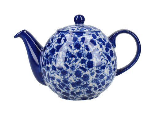 The London Pottery Company Splash® 4 kops Theepot  Blue  900ml.