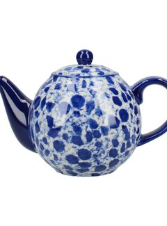 The London Pottery Company Splash® 2 kops Theepot  Blue  900ml.