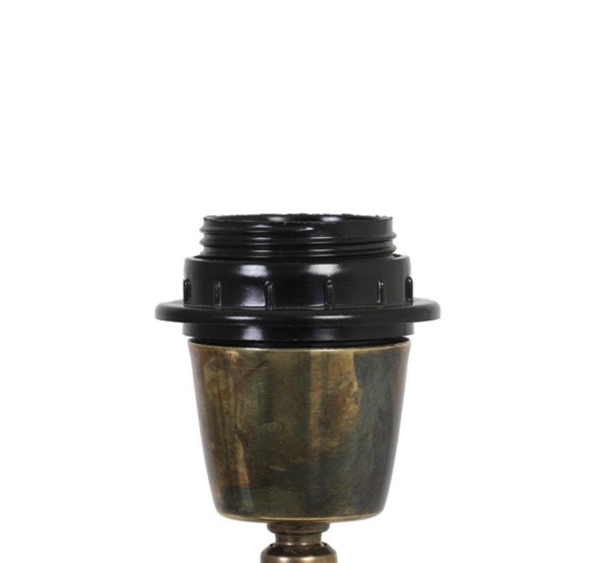 Lampvoet  JADY antiek brons  Ø17,5x65 cm