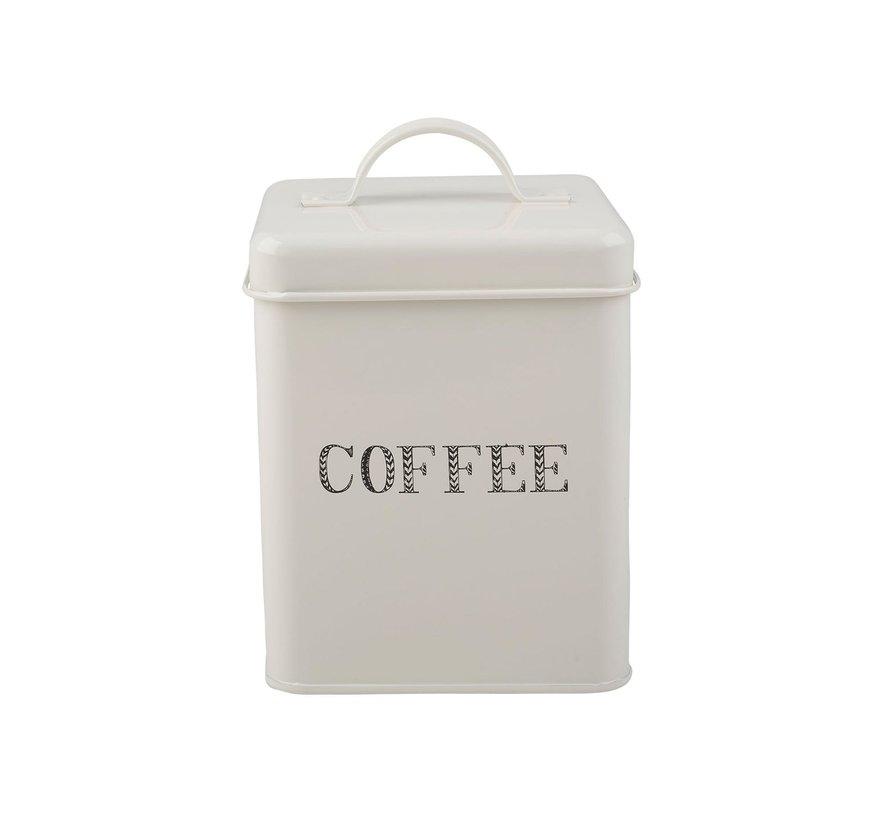 Voorraadblik koffie -COFFEE-